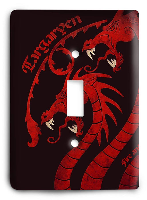 Game Of Thrones G5v26 Light Switch Cover - Colorful Switches