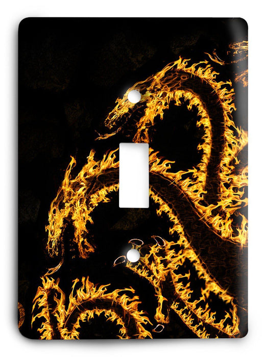 Game Of Thrones G5v36 Light Switch Cover - Colorful Switches