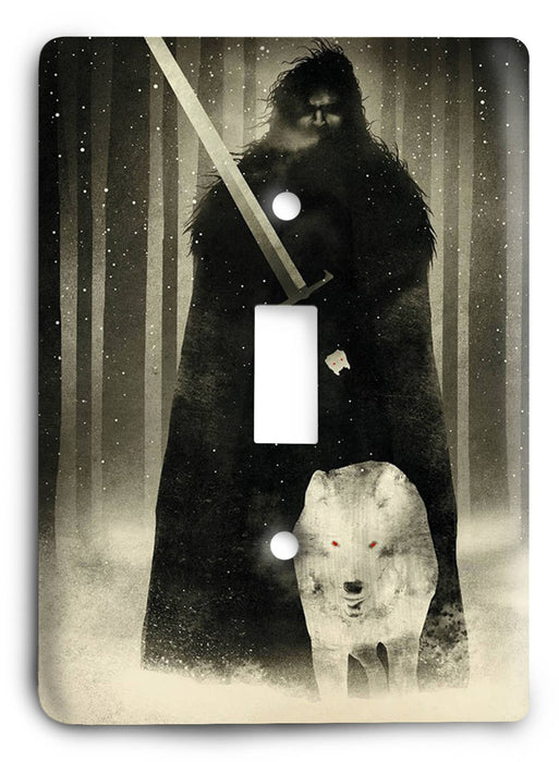 Game Of Thrones G5v56 Light Switch Cover - Colorful Switches