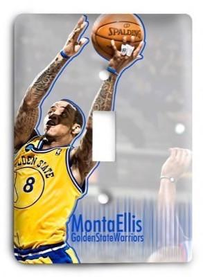 Golden State Warriors NBA 02 Light Switch Cover - Colorful Switches