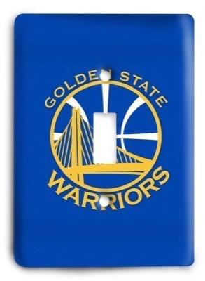 Golden State Warriors NBA 07 Light Switch Cover - Colorful Switches