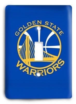 Golden State Warriors NBA 07v Light Switch Cover - Colorful Switches