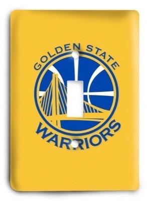 Golden State Warriors NBA 10 Light Switch Cover - Colorful Switches