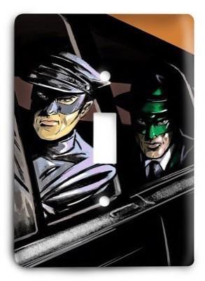 Green Hornet G3 1 Light Switch Cover - Colorful Switches