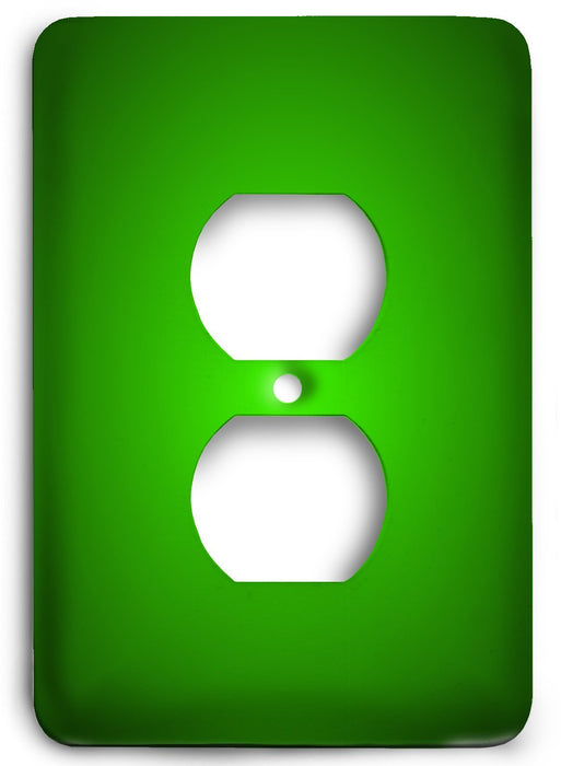Green Textures Design v12  Outlet Cover - Colorful Switches