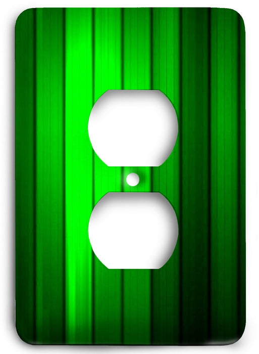 Green Textures Design v20  Outlet Cover - Colorful Switches