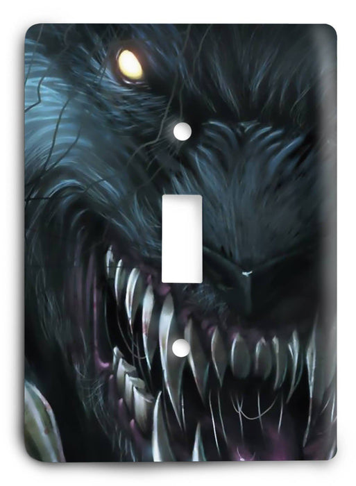 Grimm Fairy Tales - Werewolves Light Switch Cover - Colorful Switches