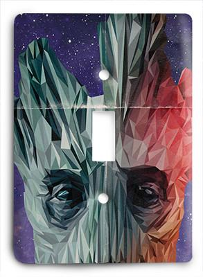 Groot  - Guardians of the Galaxy Light Switch - Colorful Switches
