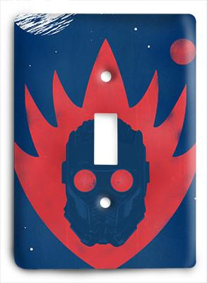 Guardians of the Galaxy - Star Lord - Abstrac Light Switch - Colorful Switches