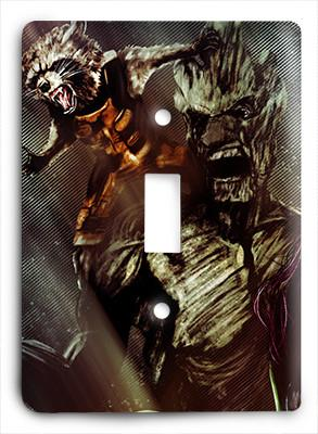 Guardians of the Galaxy Abstract 1 Light Switch - Colorful Switches