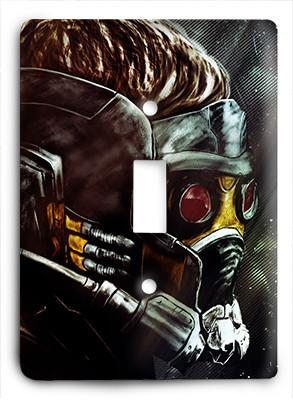 Guardians of the Galaxy Abstract 2 Light Switch - Colorful Switches
