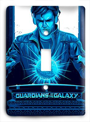 Guardians of the Galaxy Do Not Touch Blue Light Switch - Colorful Switches