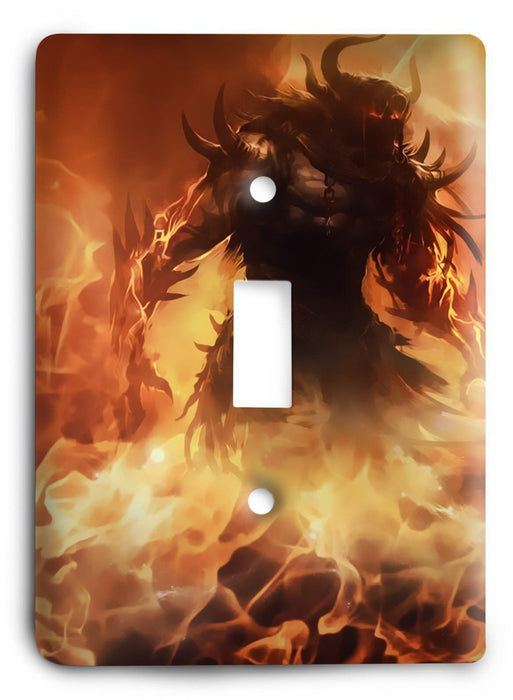 Guild Wars G5v10 Light Switch Cover - Colorful Switches