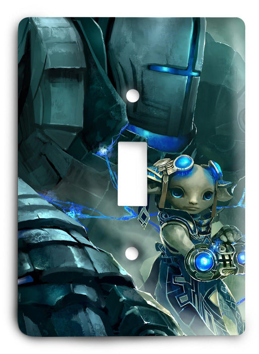 Guild Wars G5v15 Light Switch Cover - Colorful Switches