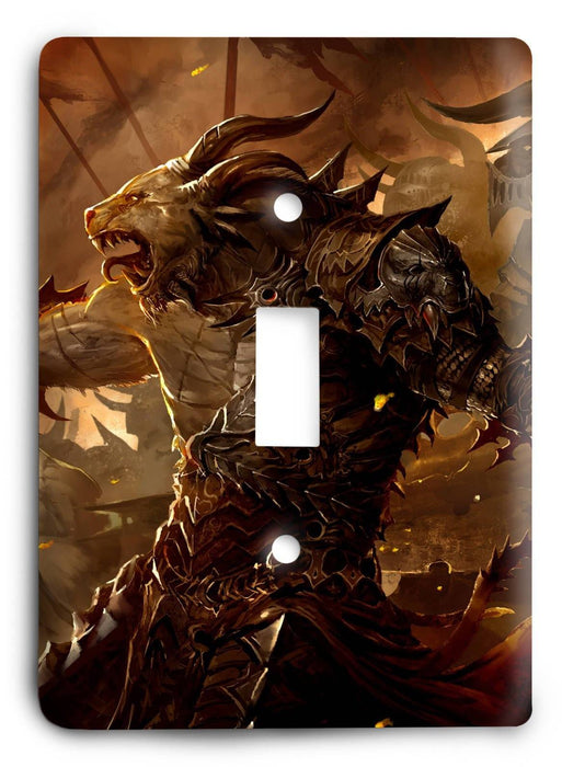 Guild Wars G5v39 Light Switch Cover - Colorful Switches