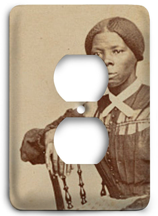 Harriet Tubman  v02 Outlet Cover - Colorful Switches