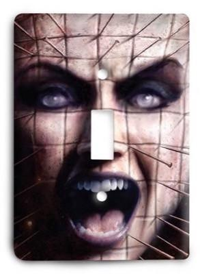 Hellraiser G3 9 Light Switch Cover - Colorful Switches