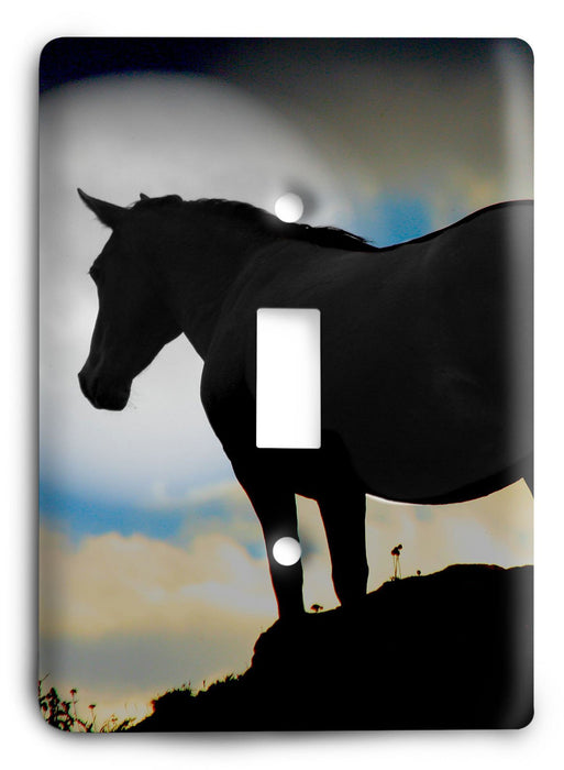 Horse Breed G5v21 Light Switch Cover - Colorful Switches