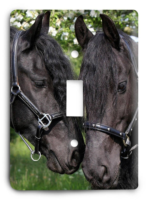 Horse Breed G5v7 Light Switch Cover - Colorful Switches