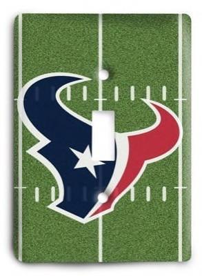Houston Texans 20 Light Switch Cover - Colorful Switches