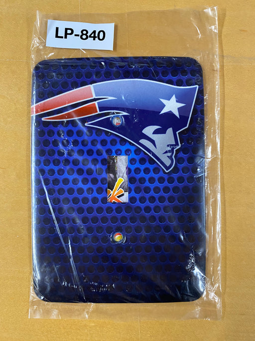 NFL Patriots Light Switch Cover - Clearance Special - Colorful Switches
