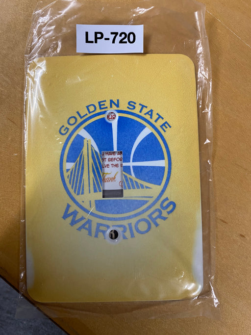 NBA Golden State Warriors Light Switch Cover - Clearance Special - Colorful Switches