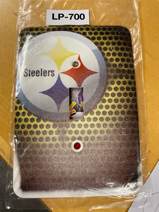 NFL Steelers Light Switch Cover - Clearance Special - Colorful Switches