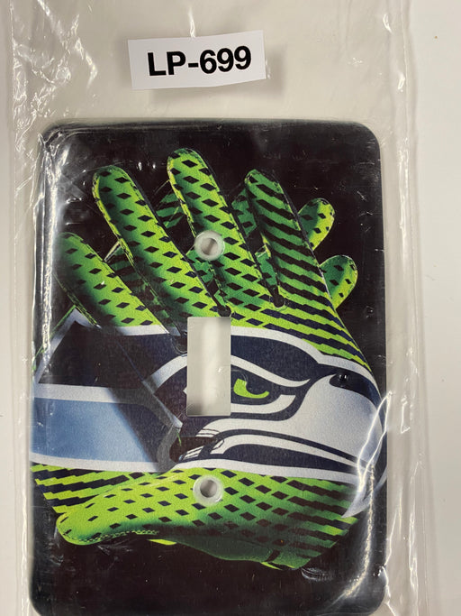 NFL Seahawks Gloves Light Switch Cover - Clearance Special - Colorful Switches