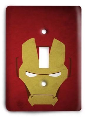 Iron Man v3 Light Switch Cover - Colorful Switches