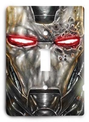 Iron Man v8 Light Switch Cover - Colorful Switches
