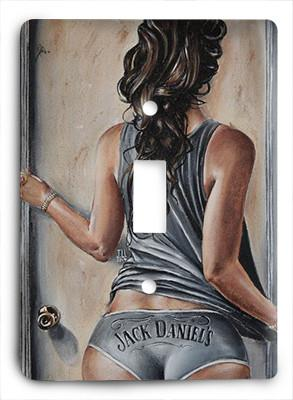 Jack Daniels On My Mind Light Switch - Colorful Switches