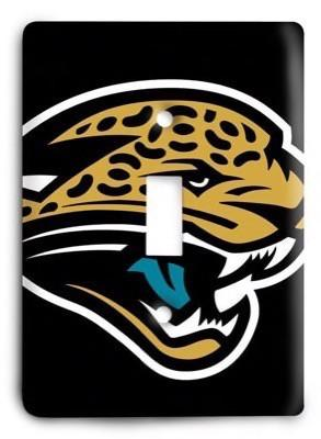 Jacksonville Jaguars 2 Light Switch Cover - Colorful Switches