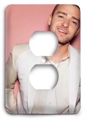 Justin Timberlake Sexy Outlet Cover - Colorful Switches