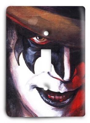 KISS Light Switch Cover - Colorful Switches
