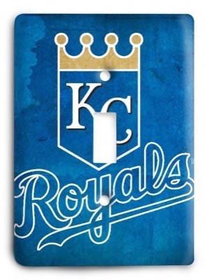 Kansas City Royals v2 Light Switch Cover - Colorful Switches