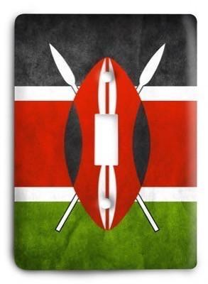 Kenya Light Switch Cover - Colorful Switches