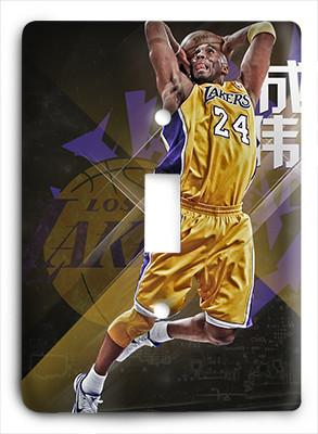 Kobe Bryant Be The Greatness Light Switch - Colorful Switches