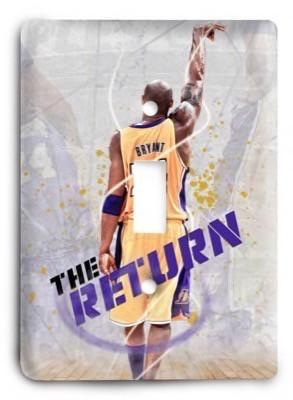 Kobe Bryant The Return Light Switch Cover - Colorful Switches