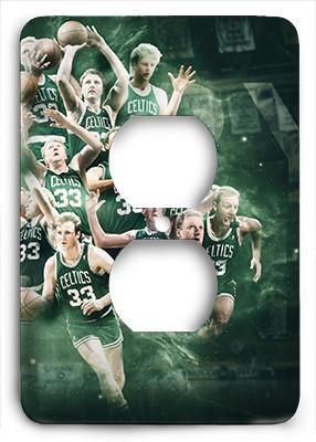 Larry Bird Celtics Outlet Cover - Colorful Switches