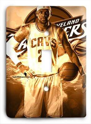 LeBron James Cavaliers Cavs Light Switch - Colorful Switches