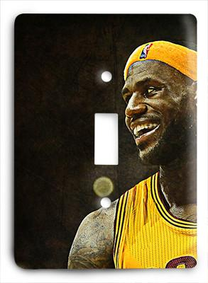 LeBron James Cleveland Cavaliers G814 Light Switch - Colorful Switches