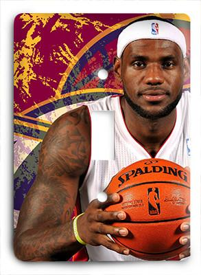 Lebron James Home Again G4 Light Switch - Colorful Switches