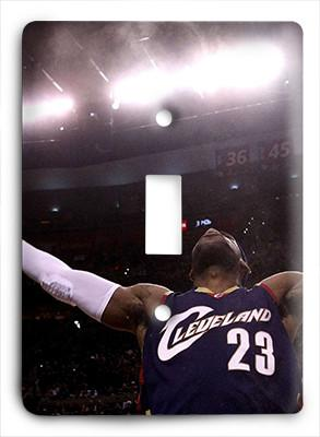 Lebron James Home Again Light Switch - Colorful Switches
