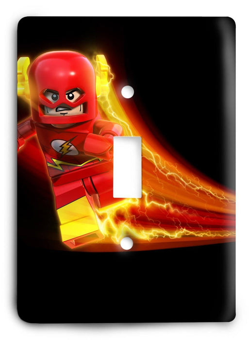 Lego Flash v1 Light Switch Cover - Colorful Switches