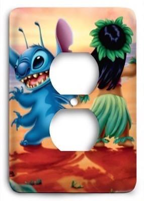 Lilo & Stitch v1 Outlet Cover - Colorful Switches