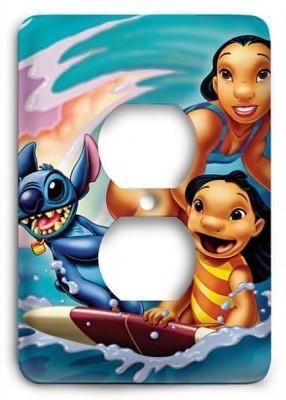 Lilo & Stitch v4 Outlet Cover - Colorful Switches