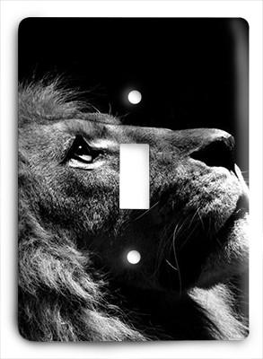 Lion Thoughts Light Switch - Colorful Switches