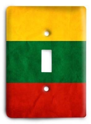 Lithuania Light Switch Cover - Colorful Switches