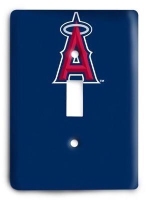 Los Angeles Angels 07 Light Switch Cover - Colorful Switches