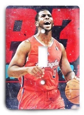 Los Angeles Clippers NBA 15 Light Switch Cover - Colorful Switches